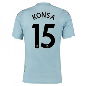 Aston Villa Away Shirt 2019-20 - Kids with Konsa 15 printing