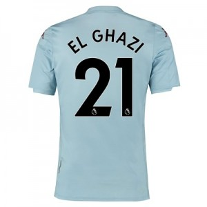 Aston Villa Away Shirt 2019-20 - Kids with El Ghazi 21 printing