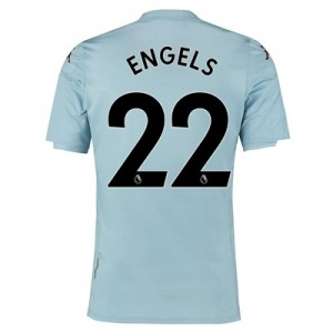 Aston Villa Away Shirt 2019-20 - Kids with Engels 22 printing