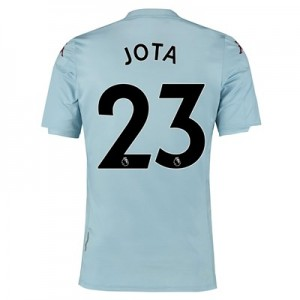 Aston Villa Away Shirt 2019-20 - Kids with Jota 23 printing