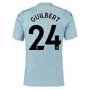 Aston Villa Away Shirt 2019-20 - Kids with Guilbert 24 printing