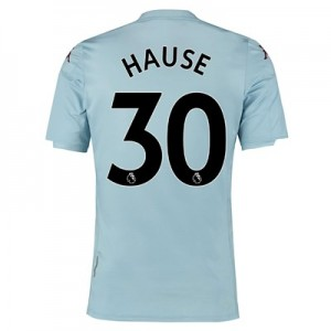 Aston Villa Away Shirt 2019-20 - Kids with Hause 30 printing