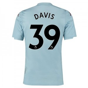 Aston Villa Away Shirt 2019-20 - Kids with Davis 39 printing