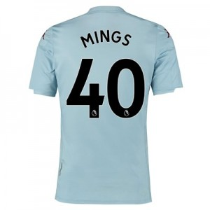 Aston Villa Away Shirt 2019-20 - Kids with Mings 40 printing