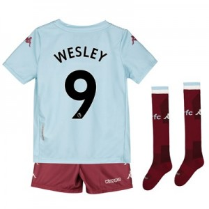 Aston Villa Away Minikit 2019-20 with Wesley 9 printing
