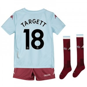 Aston Villa Away Minikit 2019-20 with Targett 18 printing