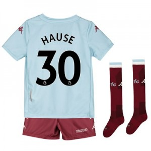 Aston Villa Away Minikit 2019-20 with Hause 30 printing