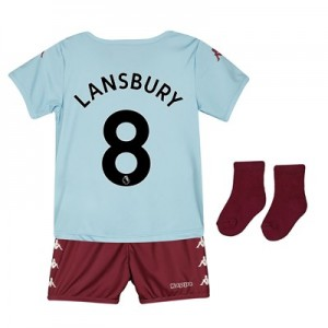 Aston Villa Away Babykit 2019-20 with Lansbury 8 printing