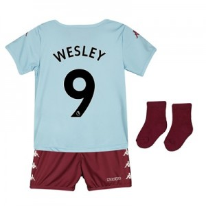 Aston Villa Away Babykit 2019-20 with Wesley 9 printing