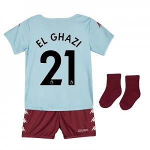 Aston Villa Away Babykit 2019-20 with El Ghazi 21 printing