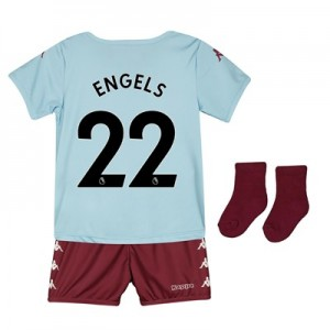 Aston Villa Away Babykit 2019-20 with Engels 22 printing