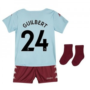 Aston Villa Away Babykit 2019-20 with Guilbert 24 printing