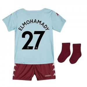 Aston Villa Away Babykit 2019-20 with Elmohamady 27 printing
