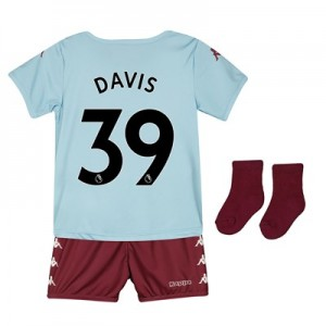 Aston Villa Away Babykit 2019-20 with Davis 39 printing