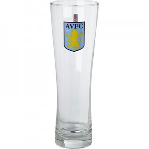 Aston Villa Pint Glass