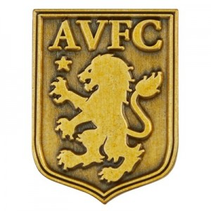 Aston Villa Crest Antique Badge