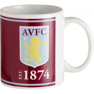 Aston Villa Crest Established 11oz Mug