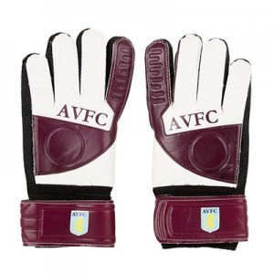 Aston Villa Goalkeeper Gloves - Youths