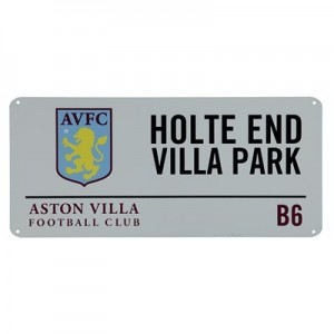 Aston Villa Street Sign - Holte End