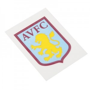 Aston Villa Small Crest Car Sticker