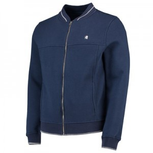 Aston Villa Terrace Full Zip Sweater - Navy - Mens