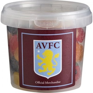 Aston Villa Sweet Tub - Fruit Salad Gums - 250g