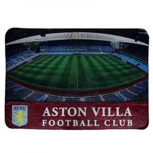 Aston Villa Digital Stadium Fleece Blanket - 175 x 125cm