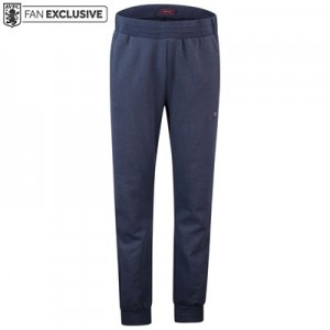 Aston Villa Terrace Slim Leg Sweat Pants - Denim Marl -Mens
