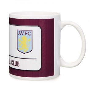 Aston Villa Street Sign Mug