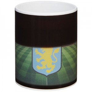 Aston Villa Colour Stadium Heat Change Mug