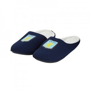 Aston Villa Mule Style Slipper - Navy - Boys