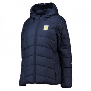 Aston Villa Core Padded Jacket - Navy- Womens