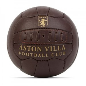 Aston Villa Heritage Football - Size 1