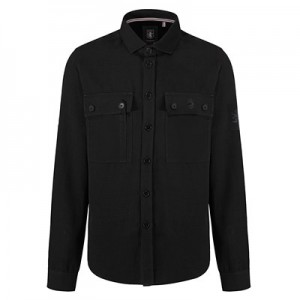 Aston Villa X Luke Williams Shacket - Jet Black - Mens