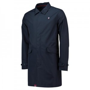 Aston Villa Terrace Coach Jacket - Navy - Mens