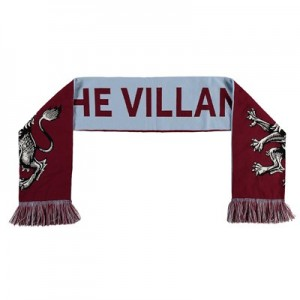 Aston Villa Lion Icon Scarf - Claret - Adult