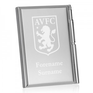 Aston Villa Personalised Crest Address Book