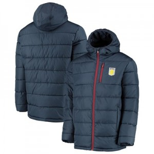 Aston Villa Padded Jacket - Navy - Mens
