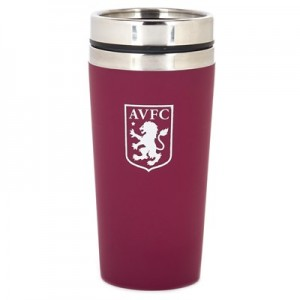 Aston Villa Soft Touch Travel Mug