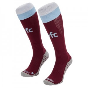 Aston Villa Away Socks 2019-20 - Kids
