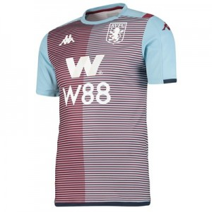 Aston Villa Home Pre Match Top - Claret