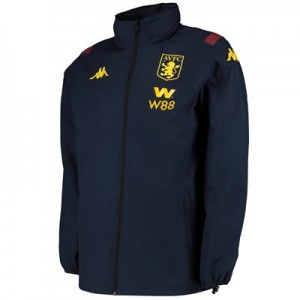 Aston Villa Rain Jacket - Navy