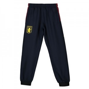 Aston Villa Woven Tracksuit Pants - Navy - Kids