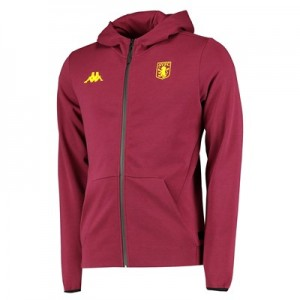 Aston Villa Tech Fleece Track Top - Claret