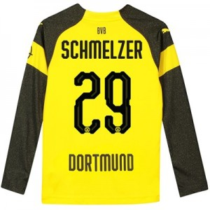 BVB Home Shirt 2018-19 - Kids - Long Sleeve with Schmelzer 29 printing