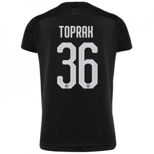 BVB Away Shirt 2019-20 with Toprak 36 printing