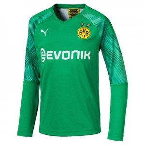 BVB Home Goalkeeper Shirt 2019-20 - Long Sleeve - Kids