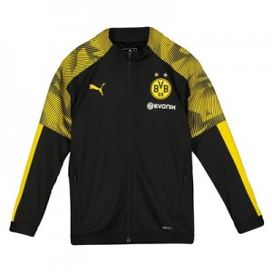 BVB Training Track Jacket - Black - Kids