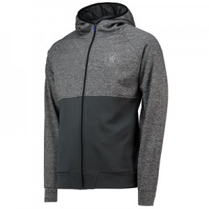 Chelsea Panelled Poly Track Jacket - Grey - Mens