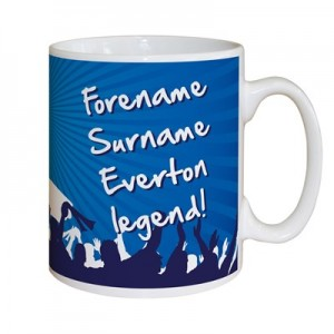 Everton Personalised Legend Mug